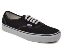 Authentic Sneaker in schwarz