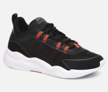 Lyron Mesh Sneaker in schwarz