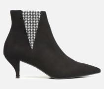 Retro Dandy Boots #8 Stiefeletten & in schwarz