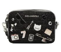 K Klassik Pins Camera Bag Handtasche in schwarz