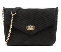 Crossbody Chaine Cuir Messine Handtasche in schwarz