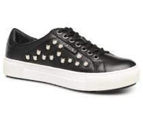Luxor Kup Cat Pearl Lace Up Sneaker in schwarz