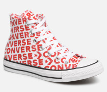 Chuck Taylor All Star Wordmark 2.0 Hi W Sneaker in rot