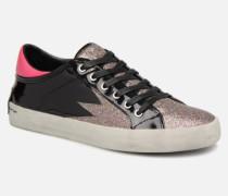 Black&Red sneakers Sneaker in schwarz