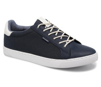 Jack & Jones JFW Trent Synthetic Suede Sneaker in blau