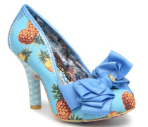 Ascot Pumps in blau
