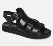 84810 Sandalen in schwarz