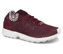 Zx Flux Pk W Sneaker in weinrot