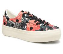One Star Platform Floral Dots Ox Sneaker in mehrfarbig