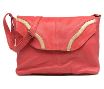 Imsa Leather Crossbody Handtasche in rot