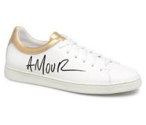 Sally Love Sneaker in weiß