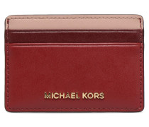 Money Pieces Card Holder in rot