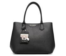 Kshopper Handtasche in schwarz