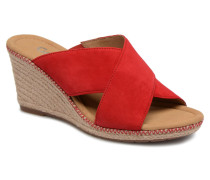 Romie Clogs & Pantoletten in rot