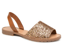 MERCY LEATHER GLITTER SANDAL Sandalen in goldinbronze