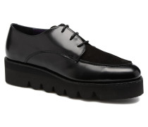 Stacey Schnürschuhe in schwarz