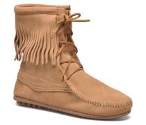 Tramper Bt Stiefeletten & Boots in beige