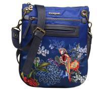 Bird Palm Bandolera Handtasche in blau
