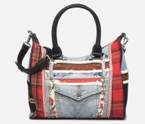 RED DENIM LEEDS Handtasche in mehrfarbig