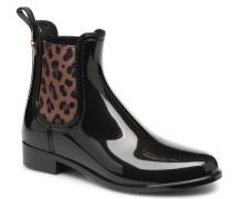 Leo Stiefeletten & Boots in schwarz
