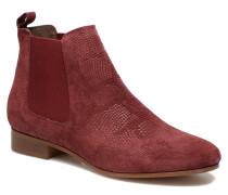 Chelsea Boots Stiefeletten & in weinrot