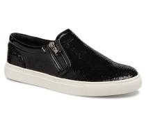 Paddock Slipon Sneaker in schwarz