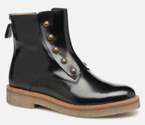 OXCIRCLE Stiefeletten & Boots in schwarz