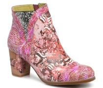 Anna 1381 Stiefeletten & Boots in rosa