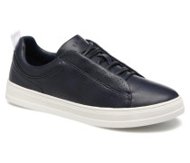 Sidney Perf lace up Sneaker in blau