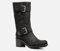 BIKER 7 MID STRAP VELOURS BRONX LIGHT Stiefel in schwarz