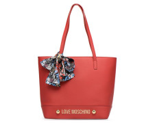 Cabas Lettering Love Handtasche in rot