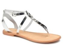 Isabel leather sandal Sandalen in silber