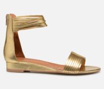 UrbAfrican Sandales Plates #1 Sandalen in goldinbronze