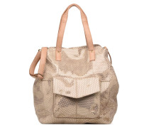 Gunn Suede Bag Handtasche in goldinbronze