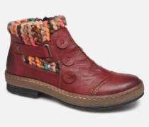 Hortense Stiefeletten & Boots in weinrot