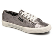 Aberlady Crackle Sneaker in silber