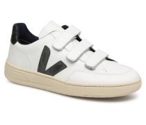 V12_Velcro Sneaker in weiß