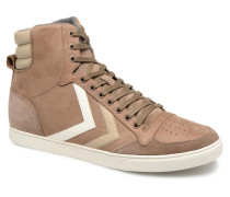 Slimmer Stadil Duo Oiled High Sneaker in braun
