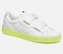 Adidas Sleek S W Sneaker in weiß