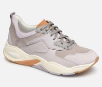 Delphiville Leather Sneaker in lila