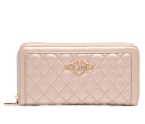 Portefeuille Super Quilted in rosa