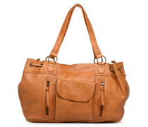 PIHANNA Leather bag Handtasche in braun