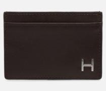 H CARD HOLDER in braun