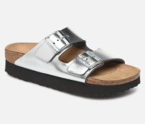 Arizona Cuir W Clogs & Pantoletten in silber