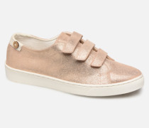 Aspenlows Suede Sneaker in goldinbronze