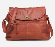 Coco Leather Crossbody Handtasche in rot