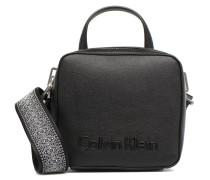 Edge Seasonnal Small Crossbody Handtasche in schwarz
