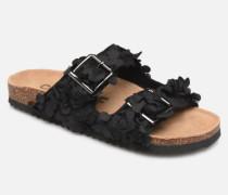 Flora Clogs & Pantoletten in schwarz