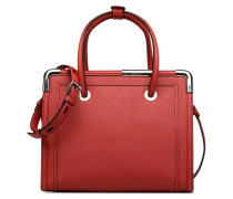 KinROCKY SAFFIANO TOTE Handtasche in rot