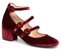 Edulce Pumps in weinrot